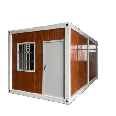 Gidan siyarwa Mai arha Ƙarfe Madaidaicin Module Container house for construction site