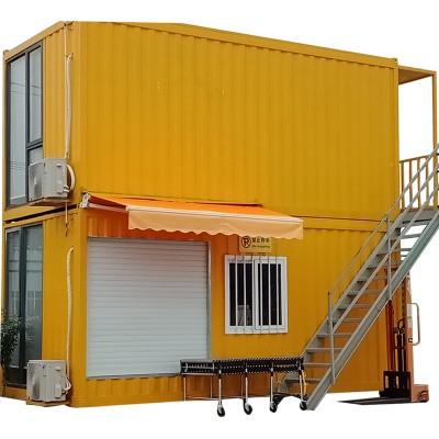 Έτοιμες 20ft χαμηλού κόστους προκατασκευασμένα επίπεδη Pack Πλήρως Σπίτι
